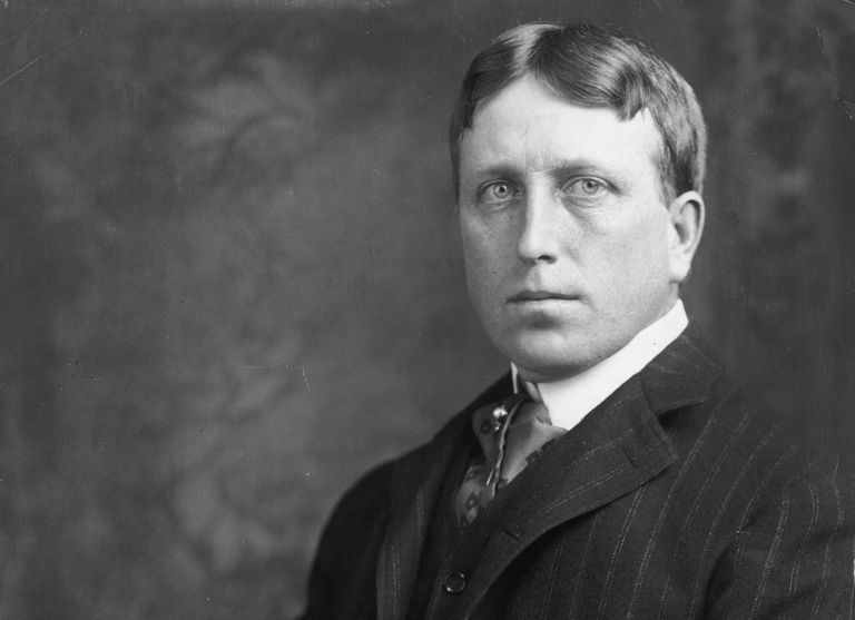 Photograph of newspaper publisher William Randolph Hearst