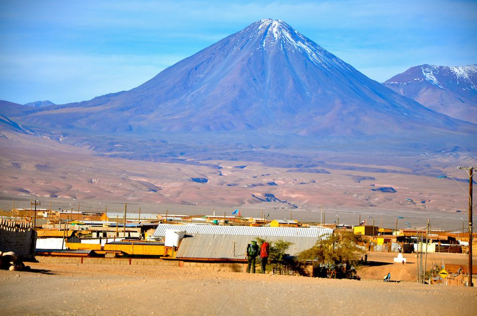 the Atacama Desert of Northern Chile