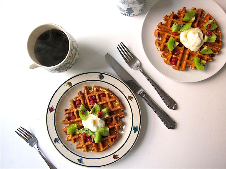 Cottage Cheese Waffles