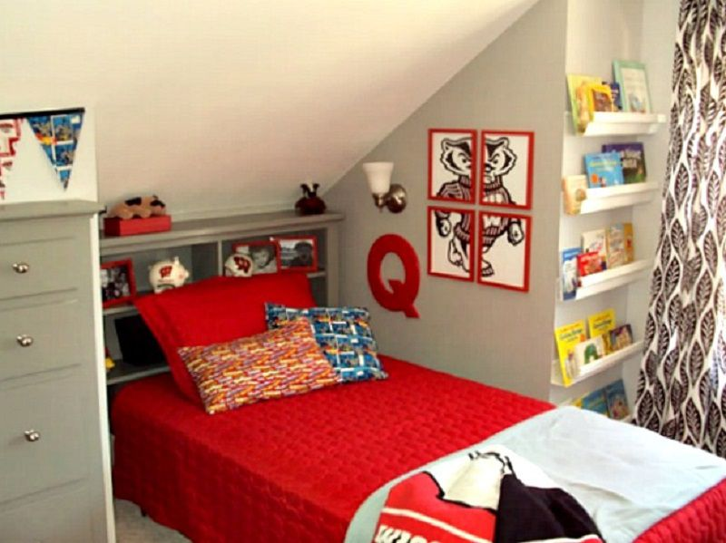 attic bedroom furniture. beautiful furniture quinnu0027s remodeled attic bedroom in furniture