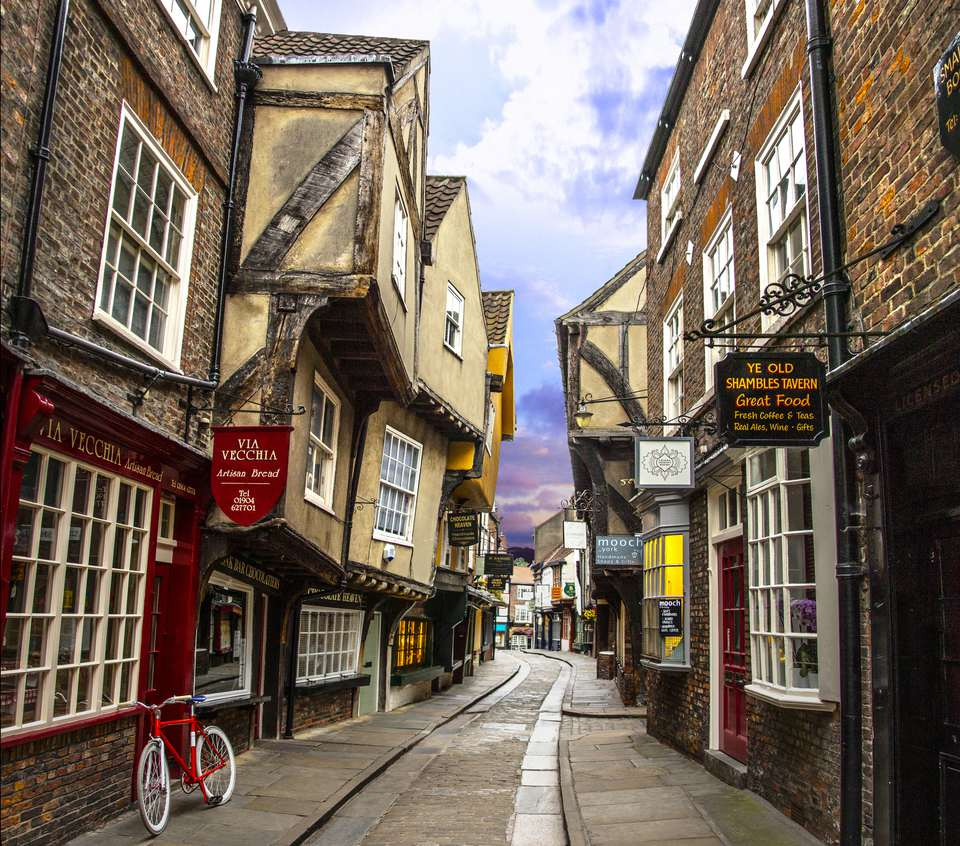 The Shambles, York, Yorkshire, England