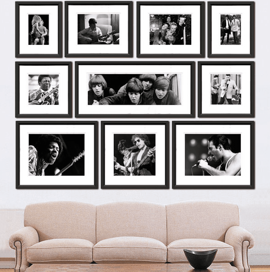 Feng Shui Black And White Decor Frames