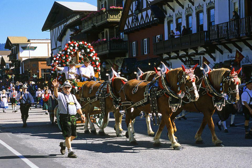 Picture of Leavenworth Autumn Leaf Festival Parade
