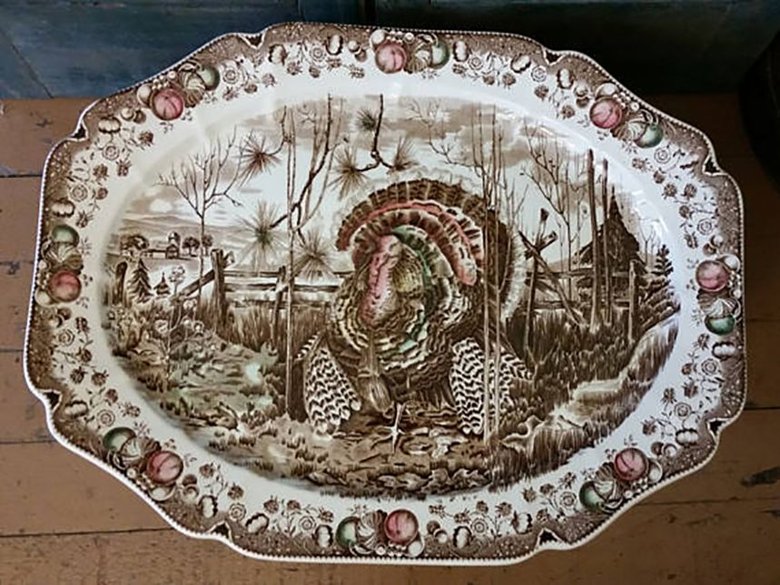 His Majesty Turkey Platter by Johnson Brothers