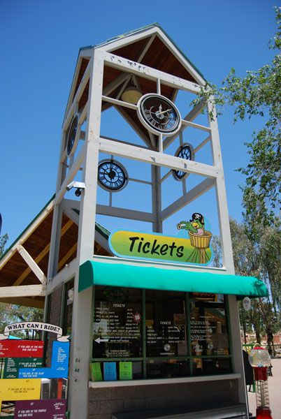 Enchanted Island Amusement Park in Phoenix