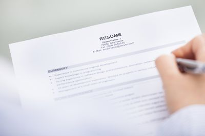 How to Select a Resume File Name