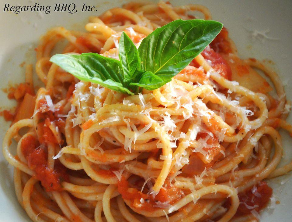 Fresh Grilled Tomato Marinara Sauce