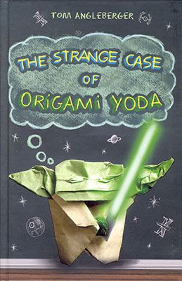 Cover art for The Strange Case of Origami Yoda by Tom Angleberger
