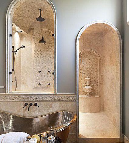 luxury shower inspiration - Shower Design Ideas