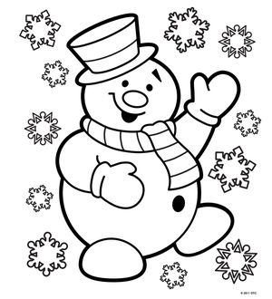 free n fun christmas coloring pages - Christmas Coloring Pages Free