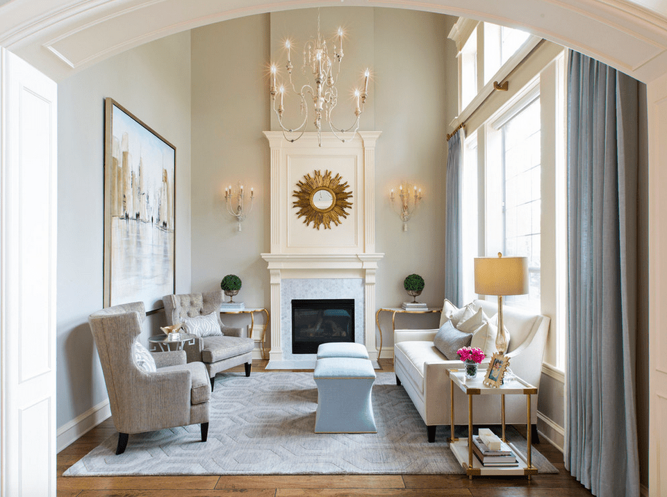 23 traditional living rooms for Small traditional living rooms