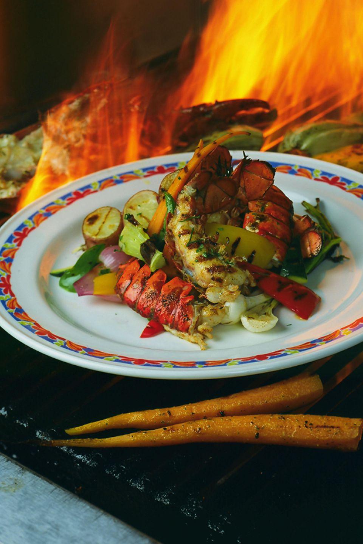 Grilled Rock Lobster