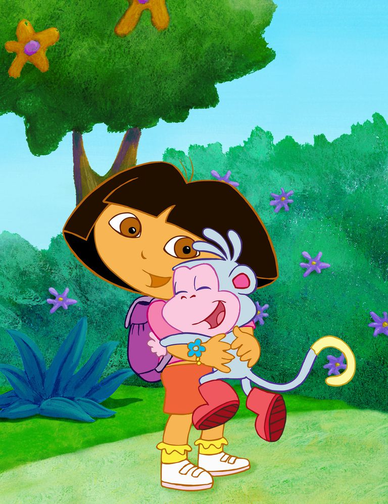 Boots the Monkey is Dora's best friend.