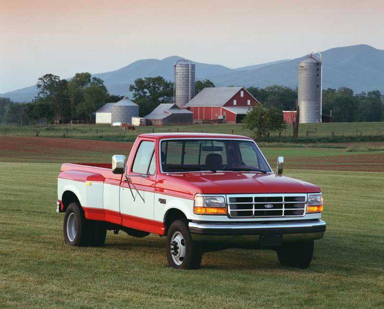 1995 Ford F 350 Pickup Truck