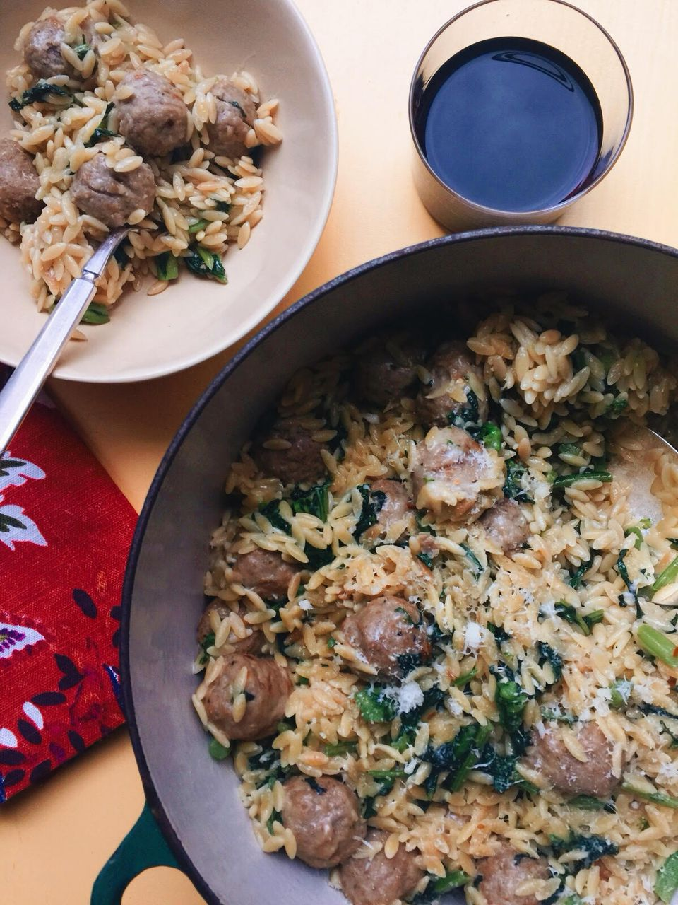 Meatball Orzo One Dish Casserole for NFRA