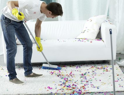 how to get poop off carpet
