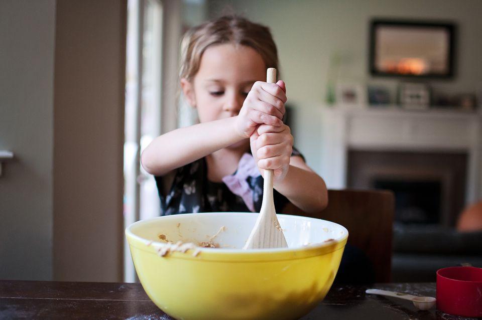 Child stirring
