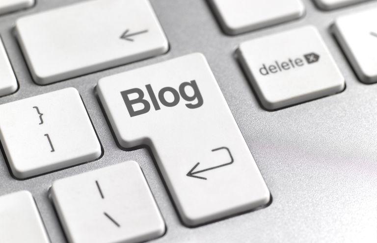 Blog Key on Keyboard