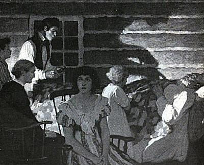The Bell Witch torments John Bell