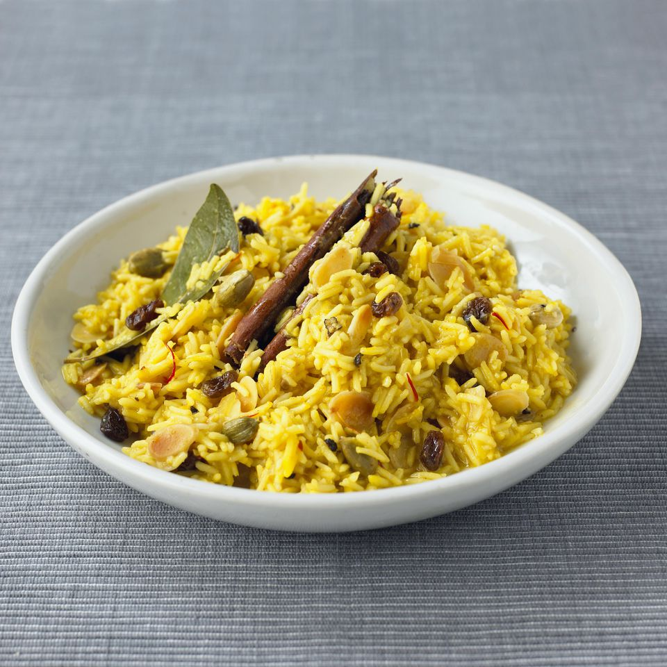 Potato Basmati Rice Pilaf