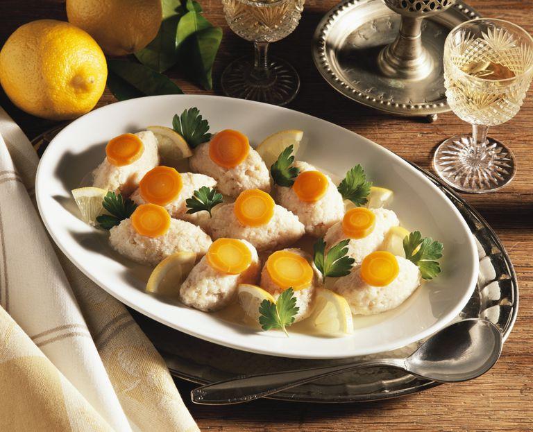 Plato Kosher: Albóndigas de pescado