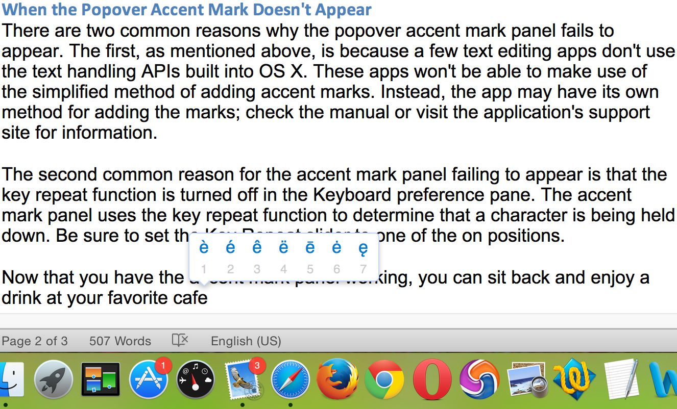 resume Resume Accent Marks adding accent marks in os x