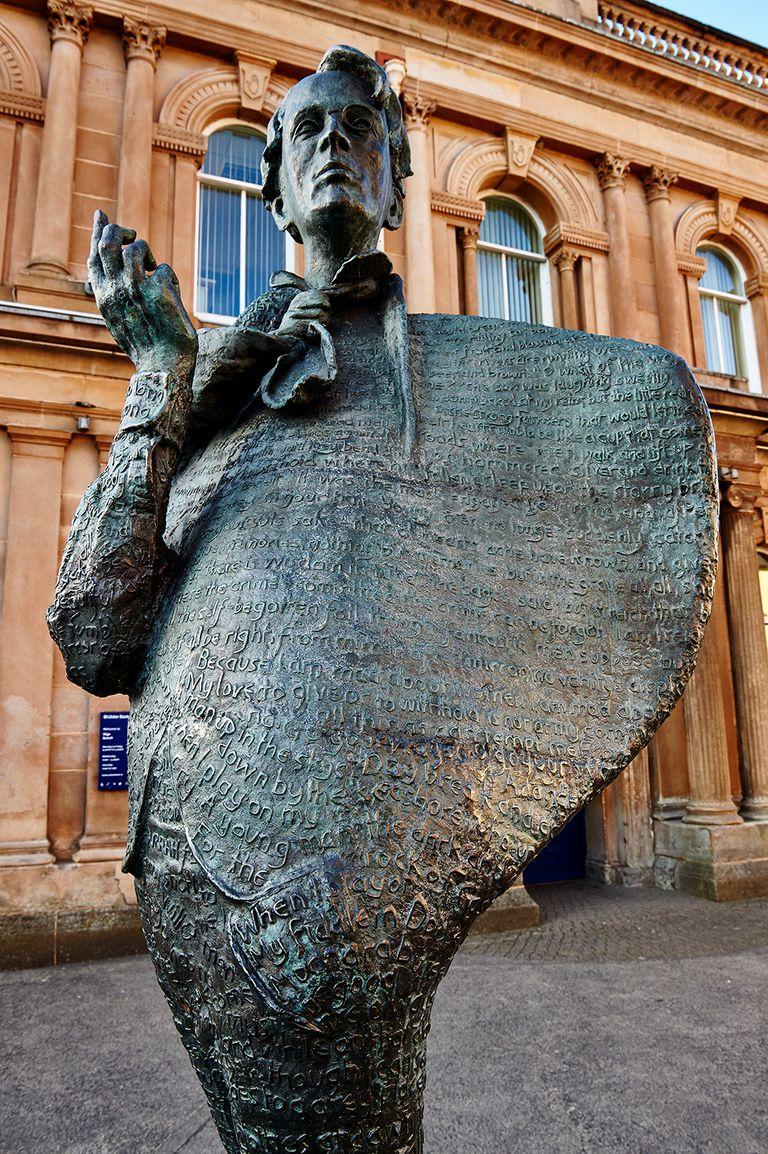 Yeats Statue, Sligo, Ireland