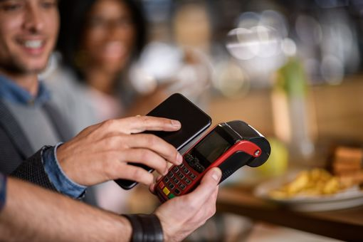 Use Samsung Pay in stores and restaurants to pay on the go.