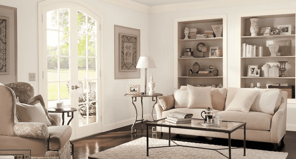 The 6 best behr paints for family rooms for Behr neutral beige paint colors