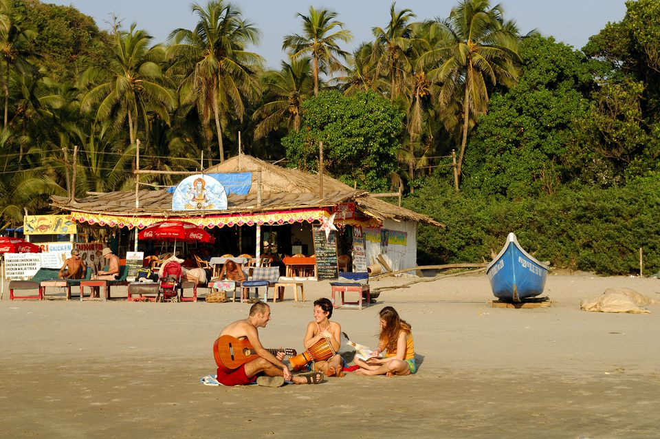 Arambol beach in Goa