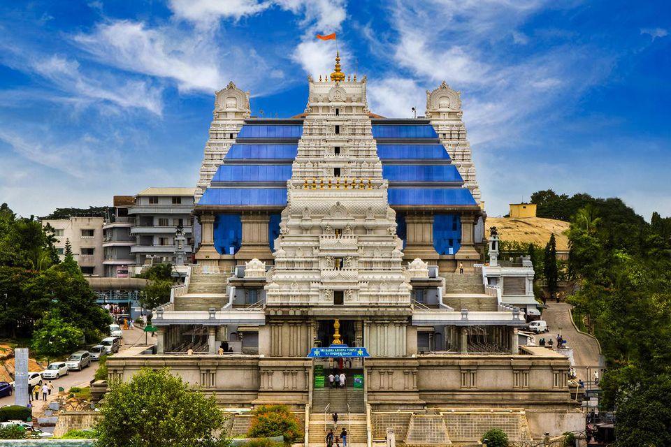 ISKCON- The Hare Krishna temple, Bangalore