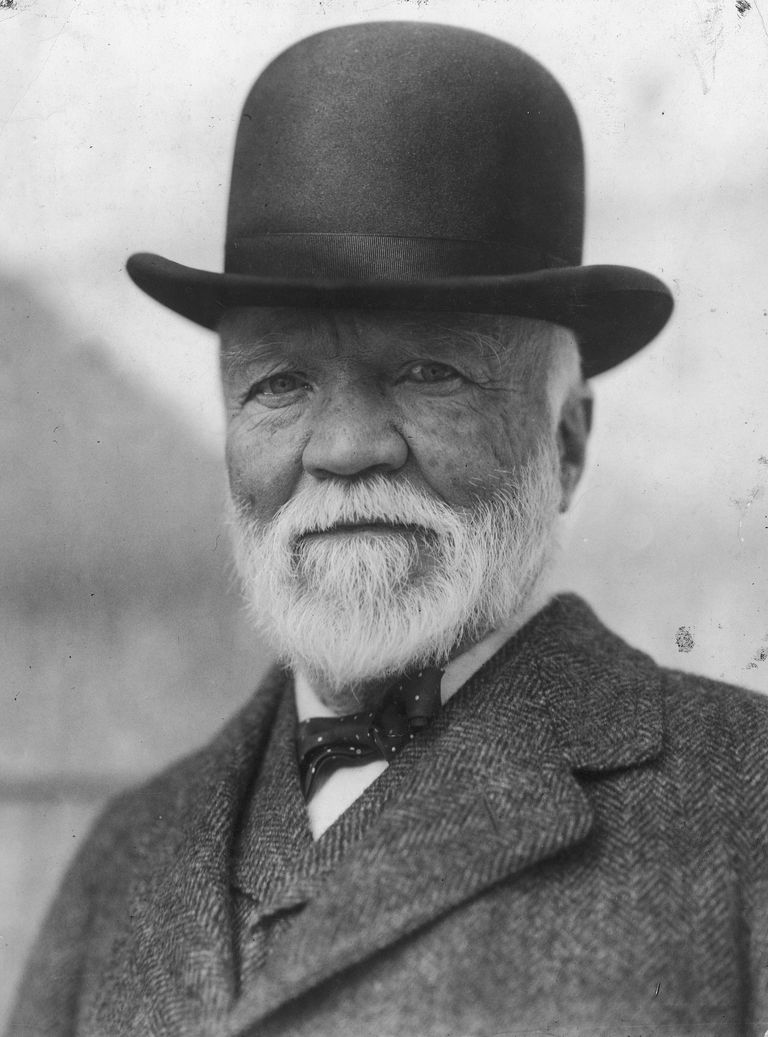 andrew carnegie american industrialist and philanthropist