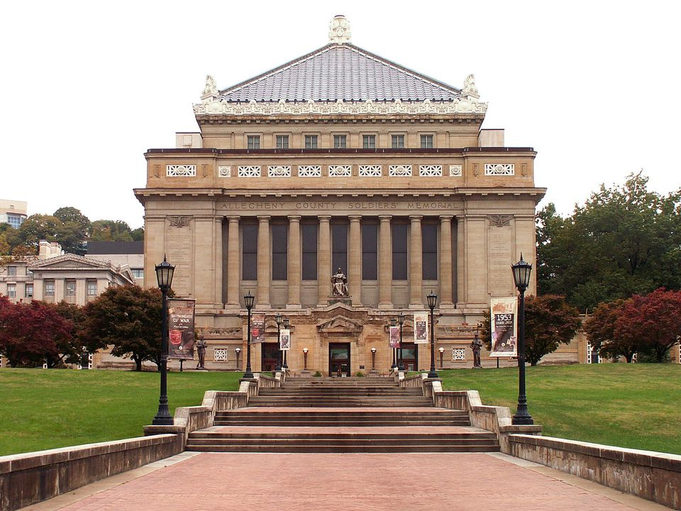 The Soldiers and Sailors Museum in Pittsburgh.