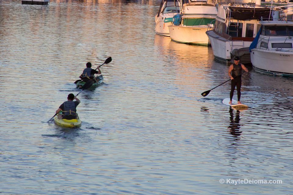 Water Sports in Long Beach