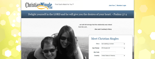 List of the christian free dating site
