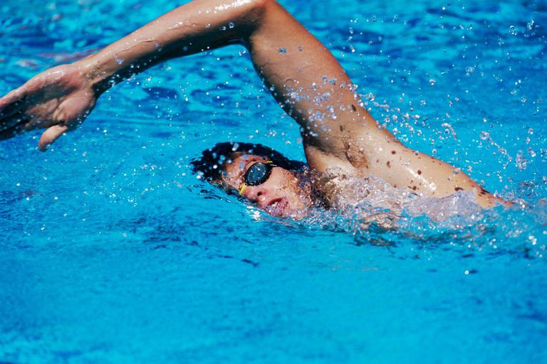 Breathing tips while freestyle swimming for Swimming images