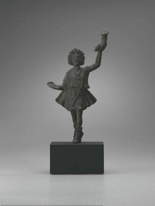 Lar; Bronze, solid-cast; 1st century A.D.