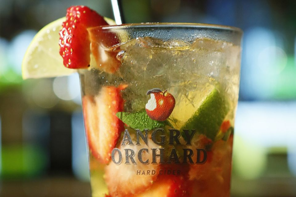 Angry Orchard Hard Cider's Orchard Catch Cooler Cocktail Recipe