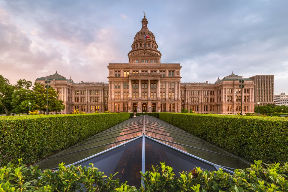 Capitol Building, Austin, Texas, America
