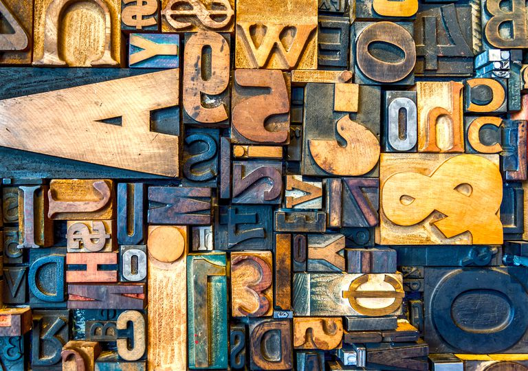 Type Letters