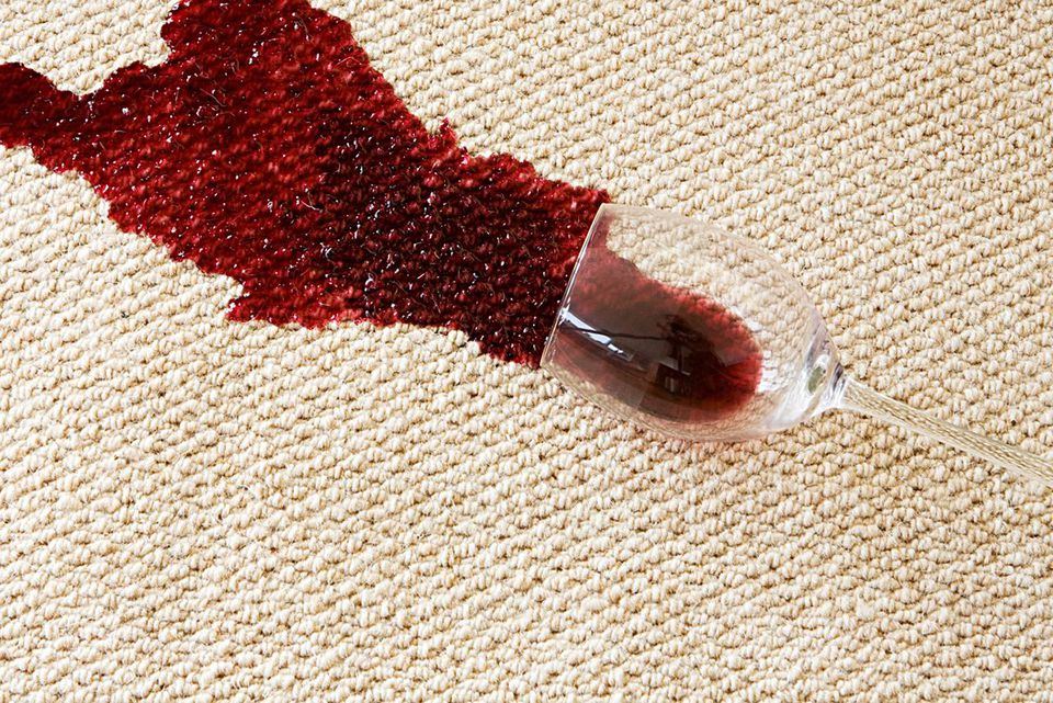 Cleaning Beer And Wine Stains Out Of Carpeting