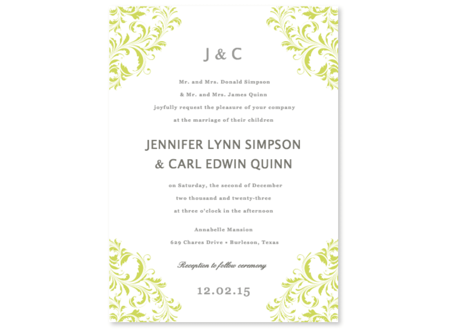 online sources for printable wedding invitations