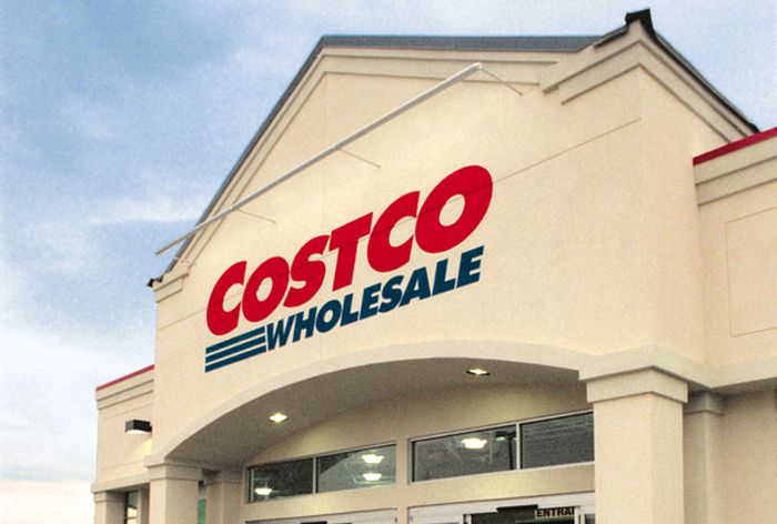 Costco Logo On Storefront