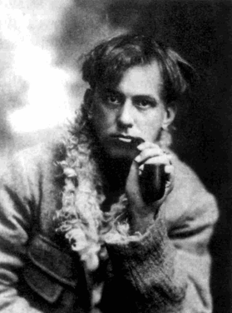 Aleister Crowley (1875-1947), here in 1902