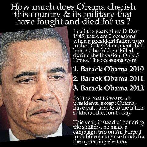 Obama D-Day Snub