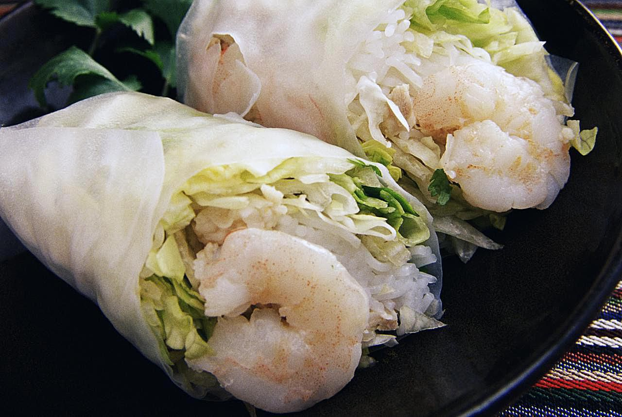 Vietnamese Spring Roll Filling with Pork and Shrimp