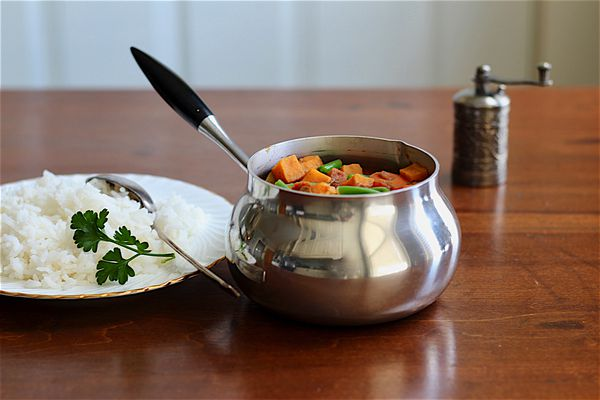 Indian Potato and Carrot Stew