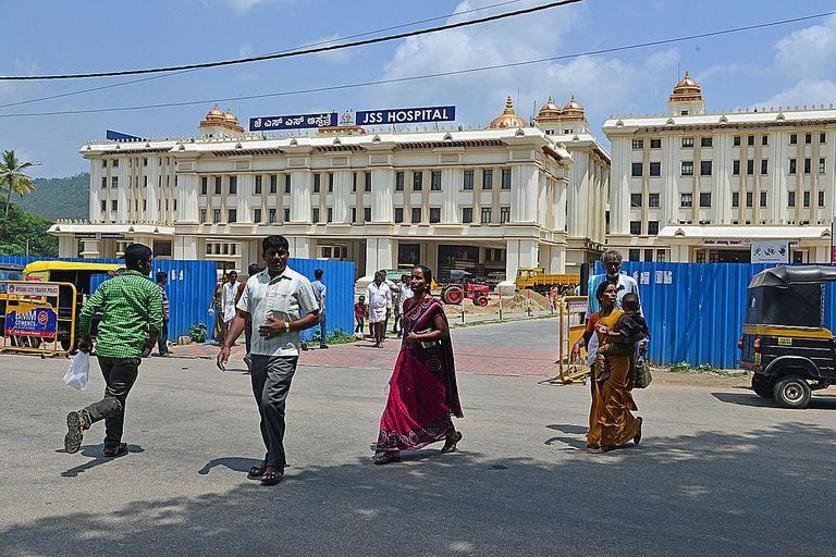 Hospital en La India
