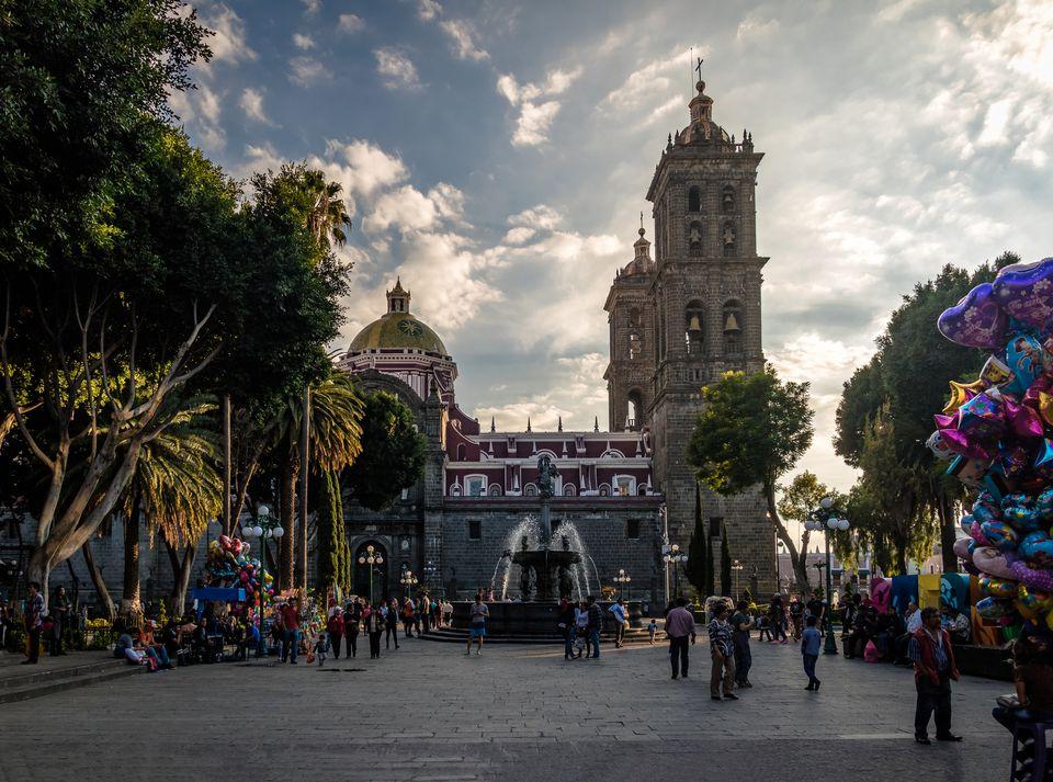 The Puebla City Zocalo