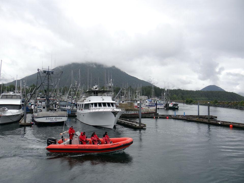 Harbor in Sitka, Alaska